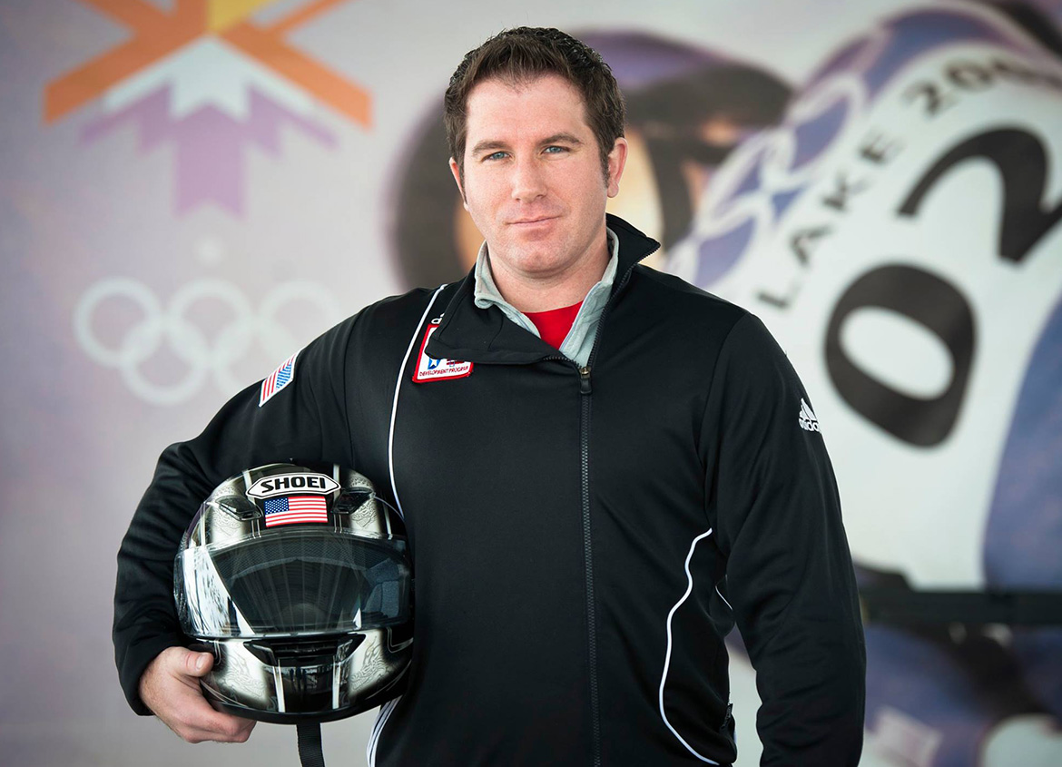 Jeremy C. Holm bobsled author
